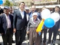 Ak Parti Milletvekili Adayları Kozaklı Halk Pazarında Vatandaşlarla Buluştu