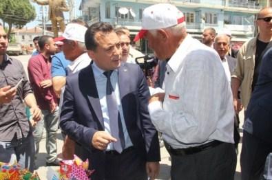MHP'li Eryılmaz Ziyaretlerini Sürdürüyor