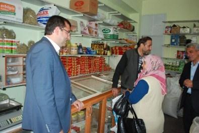 MHP Afyonkarahisar Milletvekili Adayı Parsak Çay'a Çıkarma Yaptı