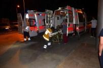 OSMAN DURMAZ - Osmancık'ta Trafik Kazası Açıklaması 4 Yaralı
