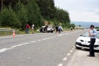 Lastiği Patlayan Otomobil Takla Attı Açıklaması 1 Ölü, 6 Yaralı