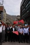 MUSTAFA CANLı - Gümüşhane'de 'Terör' Protestosu