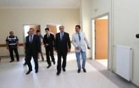 Vali Çomaktekin'nden Hamamözü'deki Hastane İnşaatında İnceleme