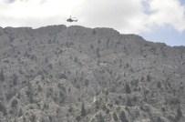 Kayalıktan Düşen Kişiyi Cep Telefonu Hayata Bağladı