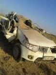 Konya'da Kamyonet Devrildi Açıklaması 2 Ölü, 1 Yaralı