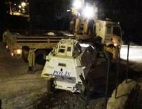Mardin'de polis aracı devrildi: 1 Şehit, 1 Yaralı