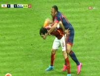 VEDERSON - Galatasaray- Mersin İ. Yurdu maçında gergin dakikalar