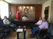 SGK İl Müdürü Tümsek'ten Eceabat Kaymakamına Ziyaret