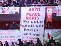 CHP kurultaynda Kürtçe pankart müdahalesi