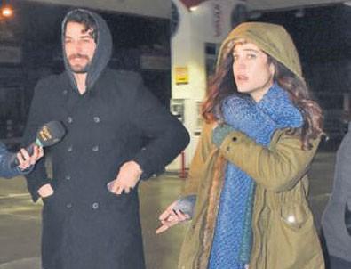 Berrak Tüzünataç sevgilisiyle yakalanınca gazetecilere terslendi