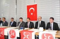RUHSAR DEMİREL - MHP'de Başkanlar Kılıçları Çekti