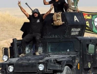 Haşdi Şabi'den Telafer'e operasyon