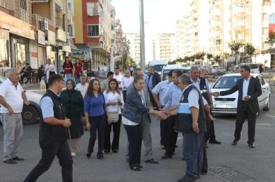 Bağlar Belediyesi'nden Esnaf Ziyareti