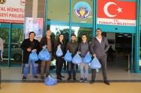 ABDURRAHIM ARSLAN - Üniversitelilerden Mavi Kapak Kampanyasına Destek