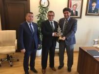 Derbent Heyeti, Bakan Avcı'yı Ziyaret Etti