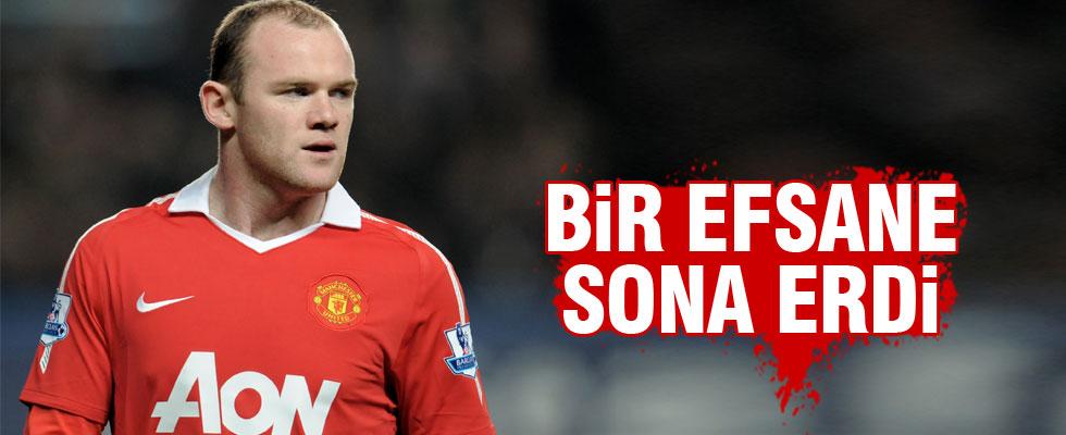 Rooney'e şok ceza