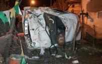Kastamonu'da Otomobil Evin Bahçesine Uçtu Açıklaması 2 Ölü, 4 Yaralı