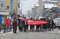 Beşiktaş'daki Terör Saldırısı Pınarbaşı'nda Protesto Edildi
