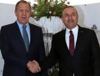 Suikast sonrası Lavrov ve Çavuşoğlu'dan ortak açıklama
