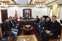 KAMİL GÜLER - Şanlıurfa Gazeteciler Derneğinden Vali Tuna'ya Ziyaret