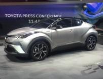Toyota C-HR'ın dünya prömiyeri Cenevre'de yapıldı