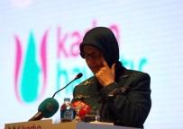 SELMA ALIYE KAVAF - Bakan Ramazanoğlu, Kürsüde Gözyaşlarına Boğuldu