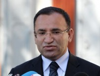 Adalet Bakanı Bekir Bozdağ'dan ''dokunulmazlık'' açıklaması