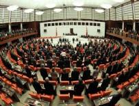 Meclis'te fezlekesi bekleyen milletvekilleri