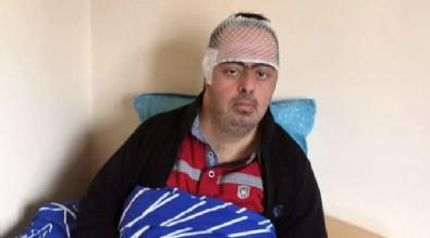 Trafikte tartıştığı adama ve down sendromlu oğluna saldırdı!