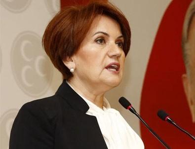 MHP Meral Akşener için inceleme başlattı