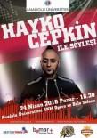 TV8 - Hayko Cepkin Anadolu Üniversitesi'ne Geliyor