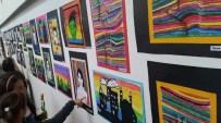 ÇOCUK RESSAM - Minik Ressamların Sergi Heyecanı