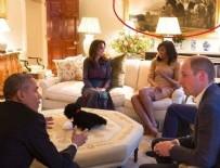 KATE MİDDLETON - Obama'nın İngiltere ziyaretinde skandaldan dönüldü