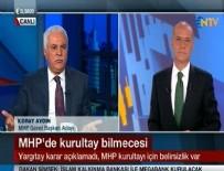 NTV - Koray Aydın'dan NTV spikerine fırça!