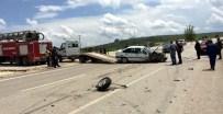 Kastamonu'da İki Otomobil Çarpıştı Açıklaması 5 Yaralı