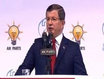 AK PARTİ KONGRESİ - Ahmet Davutoğlu: Bu bir veda değil vefa kongresidir
