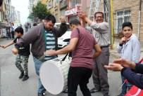 AK PARTİ KONGRESİ - Beyoğlu'nda davullu zurnalı Binali Yıldırım kutlaması