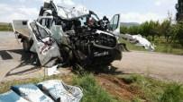 Konya'da Kamyonet Takla Attı Açıklaması 1 Ölü, 3 Yaralı