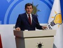 AK PARTİ MYK - Başbakan Davutoğlu: Aday olmayacağım