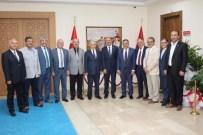 Başkanlardan Vali Kamçı'ya Hayırlı Olsun Ziyareti