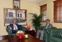 İmamoğlu Belediye Başkanı Adamhasan, Vali Demirtaş'ı Ziyaret Etti