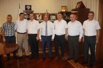 ABDULLAH OĞUZ - Sendika Temsilcilerinden Başkan Arslan'ı Ziyaret