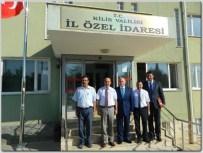 Nihat Özdemir, İl Özel İdare Genel Sekreteri Mustafa Bolat'ı Ziyaret Etti