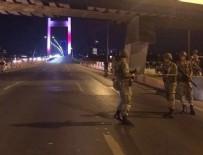 Boğaziçi ve FSM köprüleri tek yönlü kapatıldı