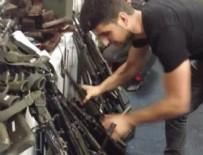 Darbe teşebbüsü yapan askerlerin silahlarına el konuldu