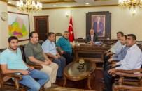 KAMİL GÜLER - Gazetecilerden Şanlıurfa Valisi Güngör Azim Tuna'ya Ziyaret