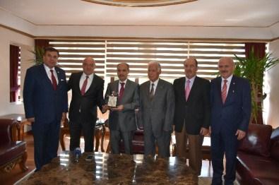 Tan'dan, Vali Aktaş Ve Başkan Vergili'ye Ziyaret