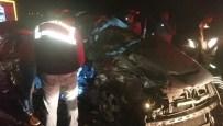 ALI KATıRCı - Afyonkarahisar'da Feci Kaza Açıklaması 4 Ölü, 1 Yaralı