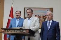 Kayseri'de 142 Milyon TL'lik Toplu Açılış Ve Temel Atma Töreni Yapıldı