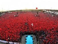 Türkiye'nin kalbi bugün Yenikapı'da atacak